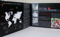 Anjou Granit Import : Création et maquettage de la plaquette (8pages)