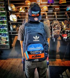 It's here! - 2016 TLD KTM TEAM LIC SNAPBACK - 2016 TLD KTM TEAM LIC BACKPACK  #xclubmalaysia #xclubpenang #ftwracing #troyleedesigns #ktmteam #ktm #adidas #snapback #backpack