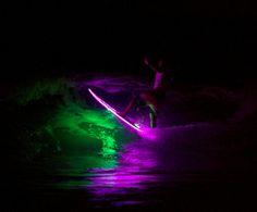 Surf Noturno em Pranchas com LED-Foto-Fábio Arruda-Clarear 16