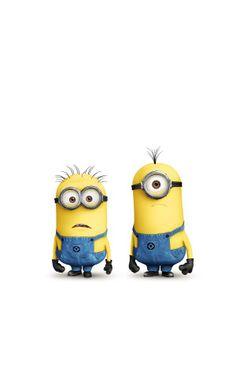 Créatures jaunes – Despicable me – Lunette – Minions – Salopette bleu