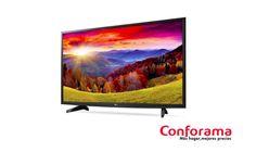 """El televisor LED de 43"""" LG 43LH5100 tiene las prestaciones necesarias para evadirte de los problemas del día y disfrutar de la televisión."""