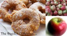 Granny's Apple Fritter Rings.... https://grannysfavorites.wordpress.com/2015/07/24/grannys-apple-fritter-rings/