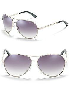 "Tom Ford ""Charles"" Aviator Sunglasses"