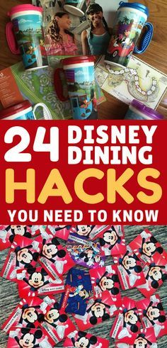 When you're visiting Disney World food is all part of the magic. Check out our Disney Dining hacks so you can make the most of the experience!