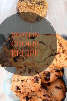 Healthy oatmeal cookies with protein. See for the recipe my Youtube Channel.