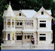 Victorian Barbie Doll House Woodworking Plans To Make-your-own Dollhouse **plans…