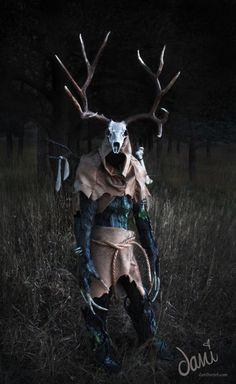 Dani Hartel Cosplay Leshy The Witcher 3 Leszy Wiedźmin