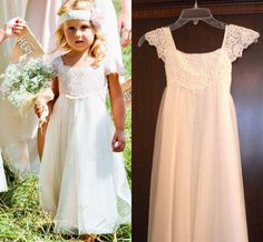 I found some amazing stuff, open it to learn more! Don't wait:http://m.dhgate.com/product/2017-white-cute-flower-girls-dresses-capped/387850082.html