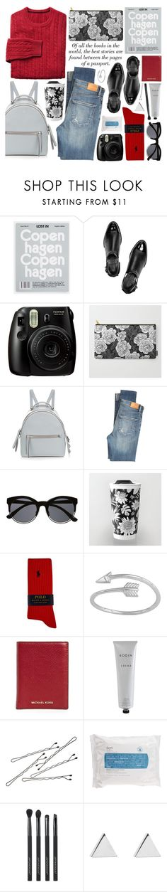"""""""mini backpack"""" by jesuisunlapin ❤ liked on Polyvore featuring Alexander Wang, Fujifilm, Fendi, Citizens of Humanity, Witchery, H&M, Polo Ralph Lauren, Midsummer Star, MICHAEL Michael Kors and Rodin Olio Lusso"""