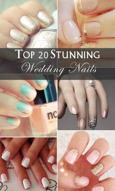 top-20-stunning-wedding-nails-for-your-big-day.jpg 600×1 000 pixels