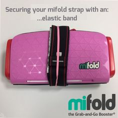 How often do you find elastic/rubber bands lying around? Just wrap it around the mifold and the strap to keep it neat and secure.