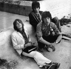 Brian Jones, Keith Richards, and Mick Jagger. #TheRollingStones #KeithRichards