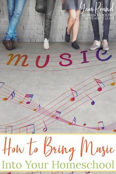Discover easy ways to incorporate music into your homeschool day! You're sure to find at least one way that will interest everyone in your homeschool! #Music #Homeschool #Homeschooling #YearRoundHomeschooling Piano Lessons, Music Lessons, Name That Tune, Music Journal, Kids Moves, Add Music, Daughters Of The King, Music Activities