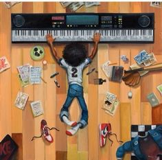 Comic Book Art With Soul - Funk Gumbo Radio: http://www.live365.com/stations/sirhobson and and \