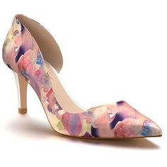 Women's Shoes Of Prey Half D'Orsay Pump