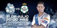 Jornada Doble   @Liga Bancomer MX #PueblaFC Vs @Club Santos Laguna Oficial #SeñoresYoSoyPoblano