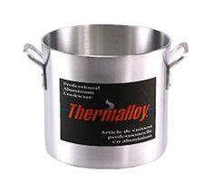 Thermalloy® Stock Pot, 32 qt., w/o cover, 6 gauge aluminum - http://cookware.everythingreviews.net/9577/thermalloy-stock-pot-32-qt-wo-cover-6-gauge-aluminum.html