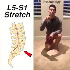 Spinal Decompression Stretch [ELDOA] - ☝️ELDOAs were created by Guy Voyer a French Osteopath and are postural self-normalizing… Gym Workout Videos, Fitness Workouts, Yoga Fitness, Workout Plans, Health Fitness, Lower Back Pain Exercises, Hip Pain, Back Pain Stretches, Neck Pain