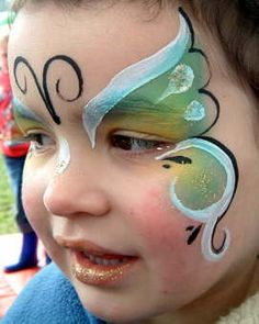 Fun Face Paint that is included in the Butterfly Fairy Makeover. Starting March 1st. $25/ per girl.