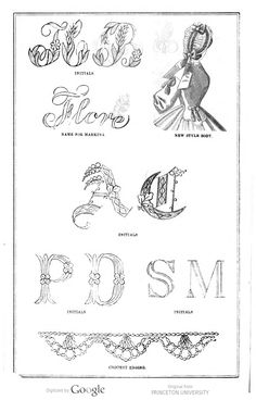 image of page 8 Peterson's magazine v.45-46. 1864