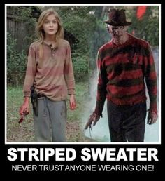 The best time to wear a stripe sweater, is all the tiiimmmeee.