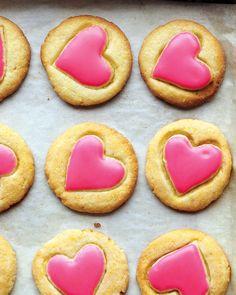 Valentine's Day Dessert Recipes: Glazed Cornmeal Cookies