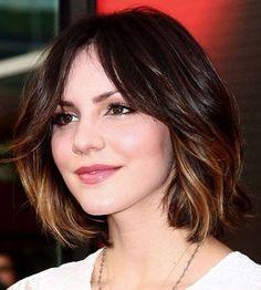 Ombre untuk rambut pendek