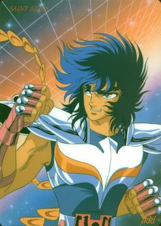 Phoenix Ikki // artwork by Shingo Araki (1987) The powerhouse of the Bronze Saints. While is truth that Seiya always defeat the big threat is impossible to negate that Phoenix Ikki could do the same with more effective results than his Bronze brother...