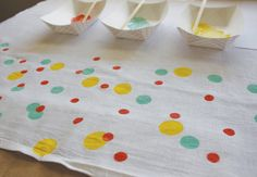 Confetti Towel from Makes and Takes