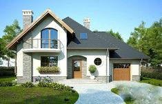 Dintre cele mai căutate solutii pentru casele de vis pentru familii, se află proiectele de locuinte cu mansardă datorită arhitecturii dar si costurilor reduse fată de casele cu etaj, avantajul fiind că beneficiază de suprafete la fel utile in mansardă si suprafată mică la sol. Propunerea de a