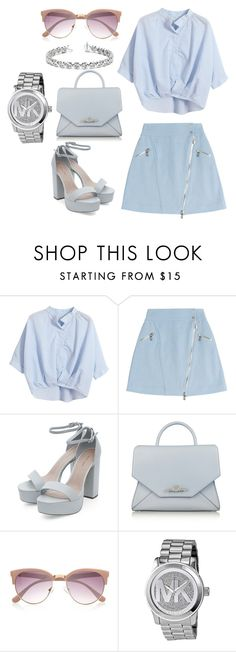 """""""poop"""" by lepaolss on Polyvore featuring moda, Chicnova Fashion, Karl Lagerfeld, Givenchy, River Island, Michael Kors y Allurez"""