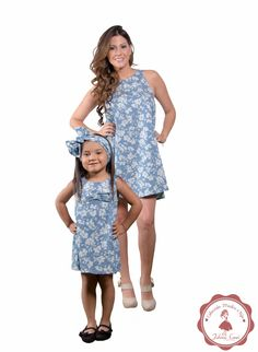 Mom And Baby Outfits, Kids Outfits, Girls Dresses, Summer Dresses, Mommy And Me, Matching Outfits, Baby Dress, Baby Kids, Daughter