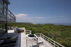 House of the Day ~ This spectacular seven bedroom ocean front contemporary offers a truly rare and special opportunity in Wellfleet. Nestled privately within the landscape of the National Seashore, this home boasts uninterrupted views of the Atlantic and is wrapped in beautiful gardens and expansive decks. Offered by Jorie Fleming - http://www.raveis.com/mls/21400609/95grannytreatsrd_wellfleet_ma
