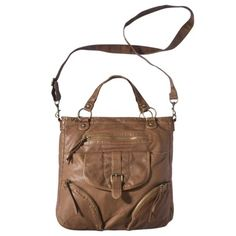 $29.99 Mossimo Supply Co. Cognac Tote Handbag.Opens in a new window