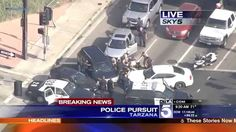 California High Speed Police Chase Attempted Murder On Police Suspect (K...