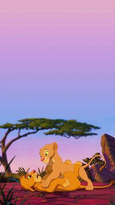 The lion king wallpaper the lion king wallpaper - disney stuff . - Disney The Lion King wallpaper Simba E Nala, Roi Lion Simba, Le Roi Lion, Nala Lion King, The Lion King 1994, Disney E Dreamworks, Disney Pixar, Disney Movies, Disney Phone Wallpaper