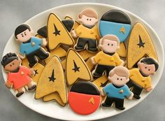star trek cookies (how to) | In the Kitchen