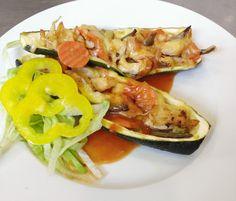 Denné menu Vranov | Jemne zapečená cuketa s kuracou plnkou #DenneMenu #Restauracia Hotel Patriot***