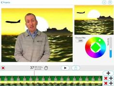 A quick tutorial of how to do green screen or chroma key work on the iPad using the Green Screen app by DoInk.
