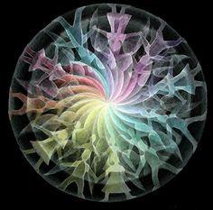 Angel Mandala by Karin Zeller