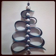 My first christmas decoration - very easy to make and very pretty