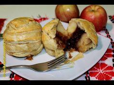 Mere coapte in aluat frantuzesc | Farfuria vesela - YouTube Baked Potato, Potatoes, Baking, Ethnic Recipes, Youtube, Food, Dessert, Potato, Bakken