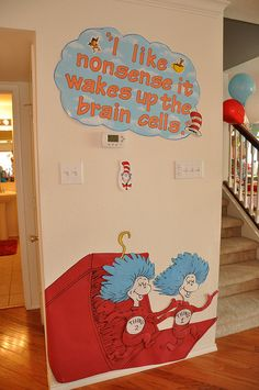 Thing 1 and Thing 2- Door design