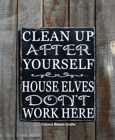 Showing this to my friends to CLEAN UP THEIR MESS!