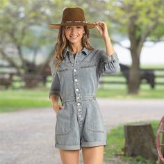 Rock & Roll Cowgirl Boulder Romper - Cowgirl Delight