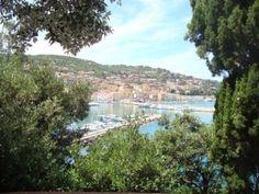 Вид на Порто-Санто-Стефано-Монте Арджентарио Тоскана