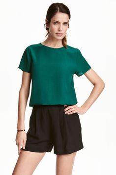 Bluzka z krótkim rękawem   H&M