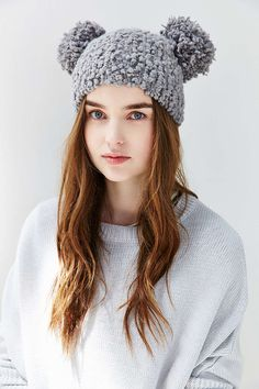 Animal Ears Beanie #UrbanOutfitters