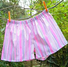 How to Make Boxer Shorts DIY by Mark Montano from Make Your Mark DIY Series Final