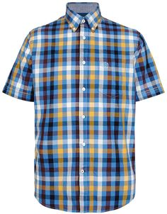 Blue Harbour Pure Cotton Block Gingham Checked Shirt £17 38% OFF! #bestdressed #fashion #ukhd #style #deal http://www.bestdressed.co.uk